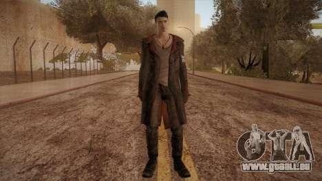Dante from DMC pour GTA San Andreas