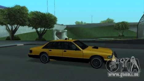 New Taxi pour GTA San Andreas moteur
