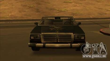 FreeShow Feltzer pour GTA San Andreas roue