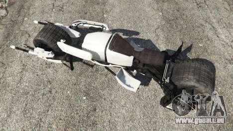 GTA 5 Batpod vue arrière