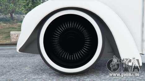 GTA 5 Volkswagen Beetle arrière droit vue de côté