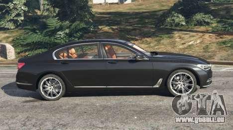 GTA 5 BMW 750Li 2016 linke Seitenansicht