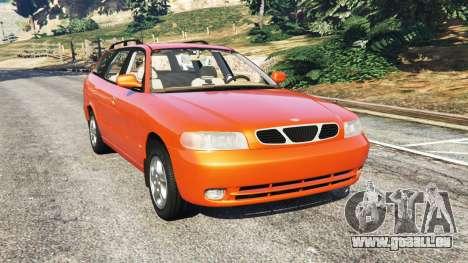 Daewoo Nubira I Wagon CDX US 1999 pour GTA 5