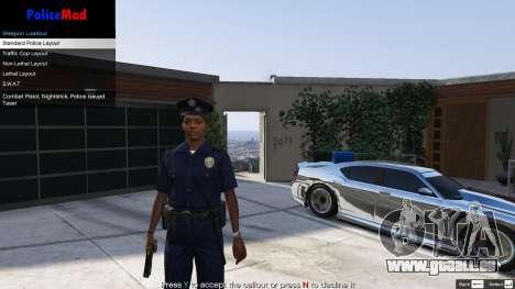 GTA 5 PoliceMod 2 2.0.2 sixième capture d'écran