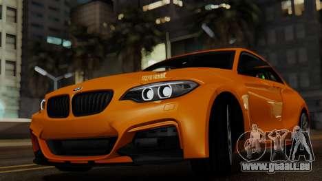 BMW M235i F22 Sport 2014 pour GTA San Andreas