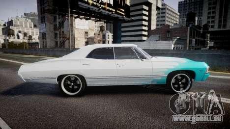 Chevrolet Impala 1967 Custom livery 1 pour GTA 4 est une gauche