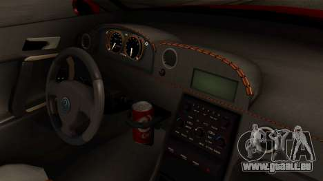 GTA 5 Annis Elegy RH8 IVF für GTA San Andreas rechten Ansicht