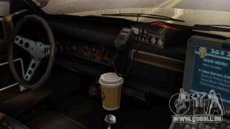 GTA 5 Albany Esperanto Police Roadcruiser IVF pour GTA San Andreas vue de droite