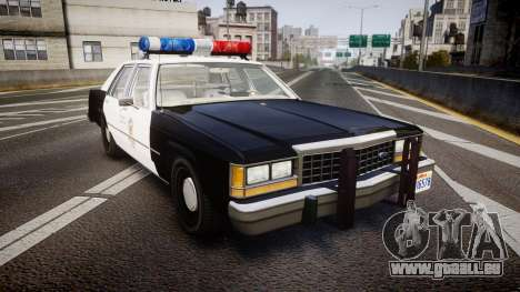 Ford LTD Crown Victoria 1987 LAPD [ELS] für GTA 4