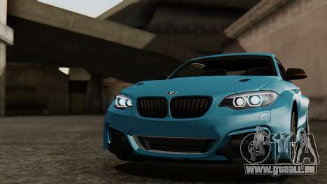 BMW M235i F22 Sport 2014 pour GTA San Andreas roue