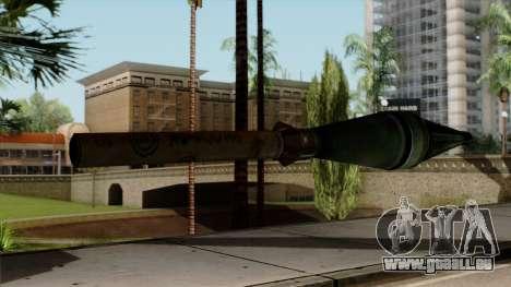 Original HD Missile pour GTA San Andreas deuxième écran
