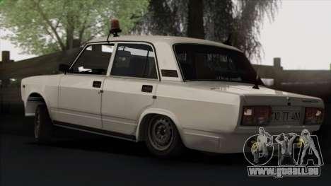 VAZ 2107 Avtosh Style pour GTA San Andreas roue