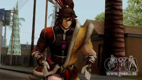 Sengoku Basara 3 - Maeda Keiji pour GTA San Andreas