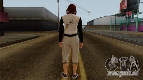 GTA 5 Online Female01 pour GTA San Andreas troisième écran