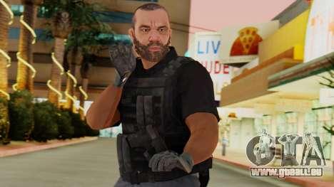 [GTA5] BlackOps2 Army Skin Black für GTA San Andreas