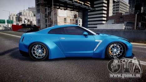 Nissan GT-R (R35) pour GTA 4 est une gauche