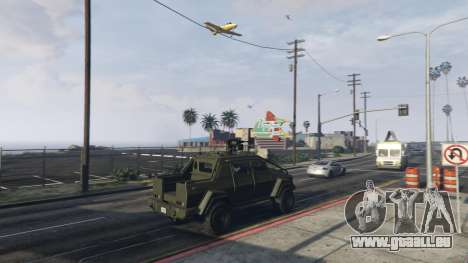 GTA 5 Angry Planes dritten Screenshot
