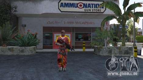 M-76 Revenant из Mass Effect 2 pour GTA 5