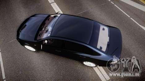 Ford Falcon FG XR6 Unmarked Police [ELS] v2.0 pour GTA 4 est un droit