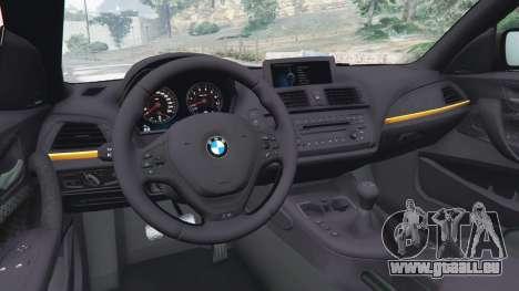 GTA 5 BMW M135i (F21) 2013 hinten rechts