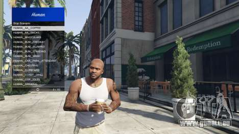 GTA 5 Scenario Menu 1.1 dritten Screenshot