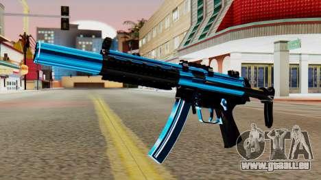 Fulmicotone MP5 für GTA San Andreas