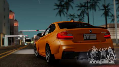 BMW M235i F22 Sport 2014 pour GTA San Andreas