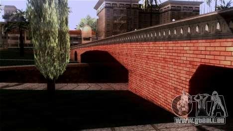De nouvelles textures Skate Park pour GTA San Andreas quatrième écran