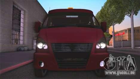 Gas 32213 für GTA San Andreas rechten Ansicht