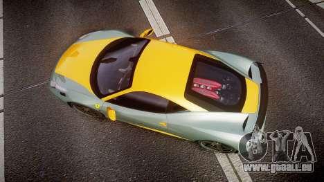 Ferrari 458 Italia Novitec Rosso 2012 pour GTA 4 est un droit