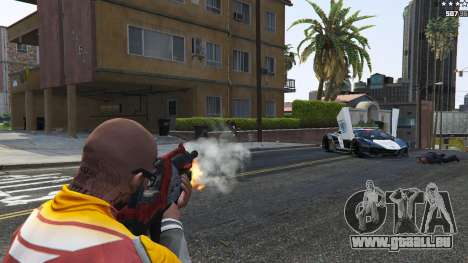 GTA 5 M-76 Wiedergänger из Mass Effect 2 achten Screenshot