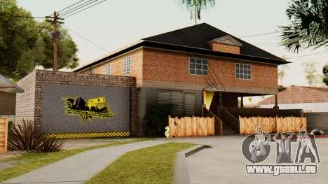 La maison de CJ pour GTA San Andreas