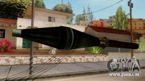 Original HD Missile pour GTA San Andreas