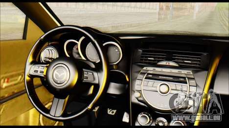 Mazdaspeed 3 Daglow v2 für GTA San Andreas rechten Ansicht