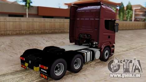 Scania R für GTA San Andreas linke Ansicht