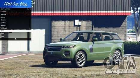 GTA 5 Premium Deluxe Motorsports Car Shop v2.3A.1 vierten Screenshot
