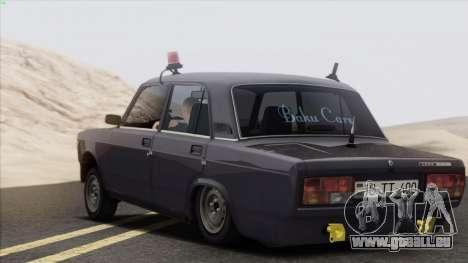 VAZ 2107 Avtosh Style für GTA San Andreas rechten Ansicht