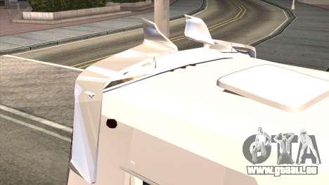 Ford Prisma IV Microbus pour GTA San Andreas vue intérieure