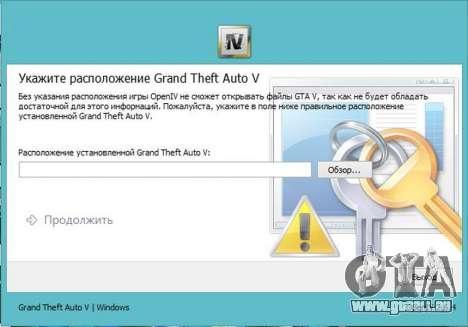 GTA 5 OpenIV 2.6.4 zweite Screenshot