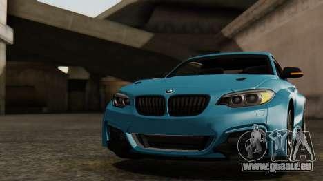 BMW M235i F22 Sport 2014 pour GTA San Andreas salon