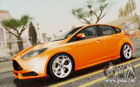Ford Focus ST 2012 für GTA San Andreas