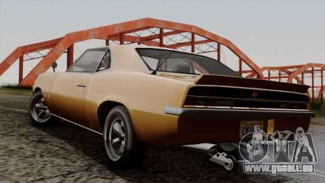 GTA 5 Declasse Vigero pour GTA San Andreas laissé vue