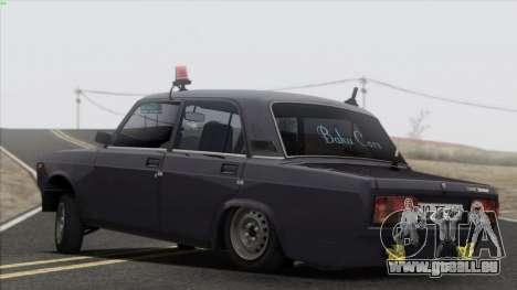 VAZ 2107 Avtosh Style für GTA San Andreas Innen
