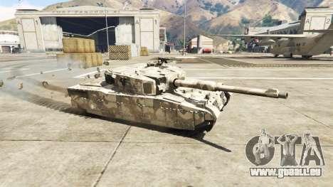 GTA 5 Miniature Rhino tank vue latérale gauche