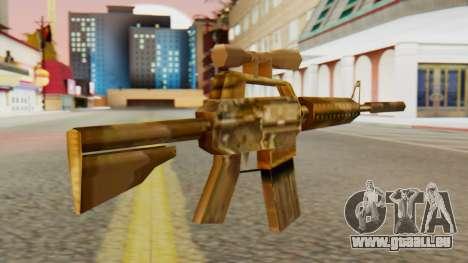 CAR-15 SA Style für GTA San Andreas zweiten Screenshot