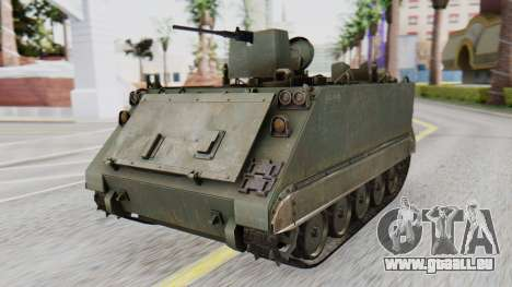 M113 from CoD BO2 pour GTA San Andreas