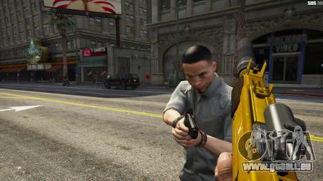 GTA 5 Le soulèvement des citoyens Chaos (Mode) 0.6.1 troisième capture d'écran