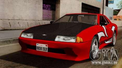 Vinyle pour Elegy - NFSMW pour GTA San Andreas