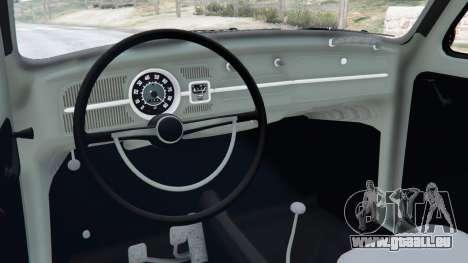 GTA 5 Volkswagen Beetle droite vue latérale