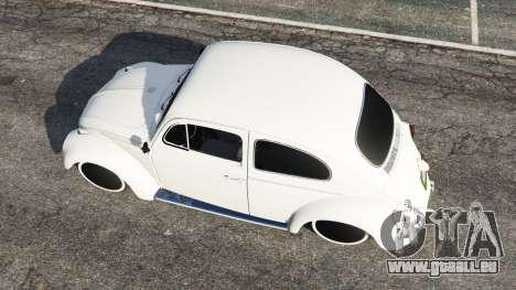 GTA 5 Volkswagen Beetle vue arrière
